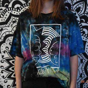 Tie Dye Rick & Morty T-Shirt